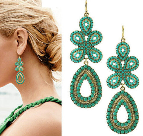 Fashion Elegant Women Bohemia Earring Jewelry Fashion Jewelry