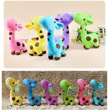 new infant baby boys girls toy Lovely Giraffe Deer Soft Plush Toy children Animal Dolls Baby Kid Birthday Party Gift
