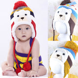 New Christmas Child hat plus velvet baby ear protector cap thickening Thermal winter Warm fashion baby hats caps