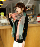 Winter Scarf Fashion Wool Spain Desigual Scarf Women Plaid Thick Scarves Shawl for Women