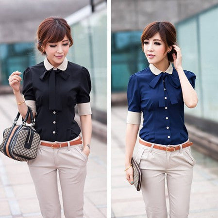 Career shirt new Promotions hot trendy cozy women clothes plus size Casual shirt Korean Slim shirt