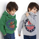 Boys Hoodies fashion lovely thick warm kids hoodies boys long sleeve t-shirts children tops for autumn and winter