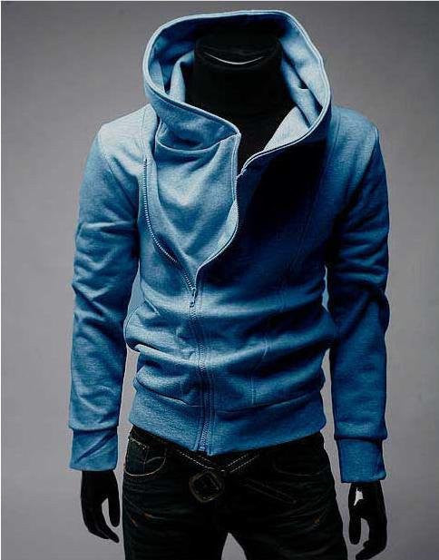 High Collar Men Jacket Top Brand Men Dust Coat Hoodies Clothes Sweater Overcoat Outwear