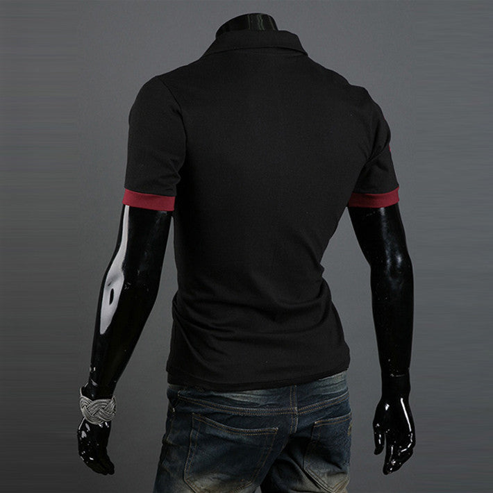 New Casual Men's Slim Fit Stylish Short Sleeve Shirts for man