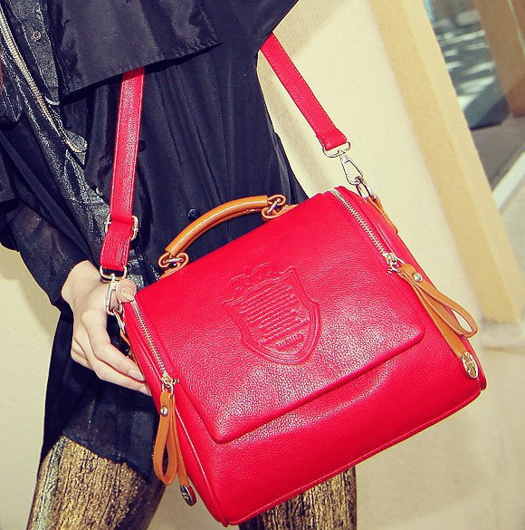 Autumn fashion one shoulder women handbag women leather handbag casual shoulder bag