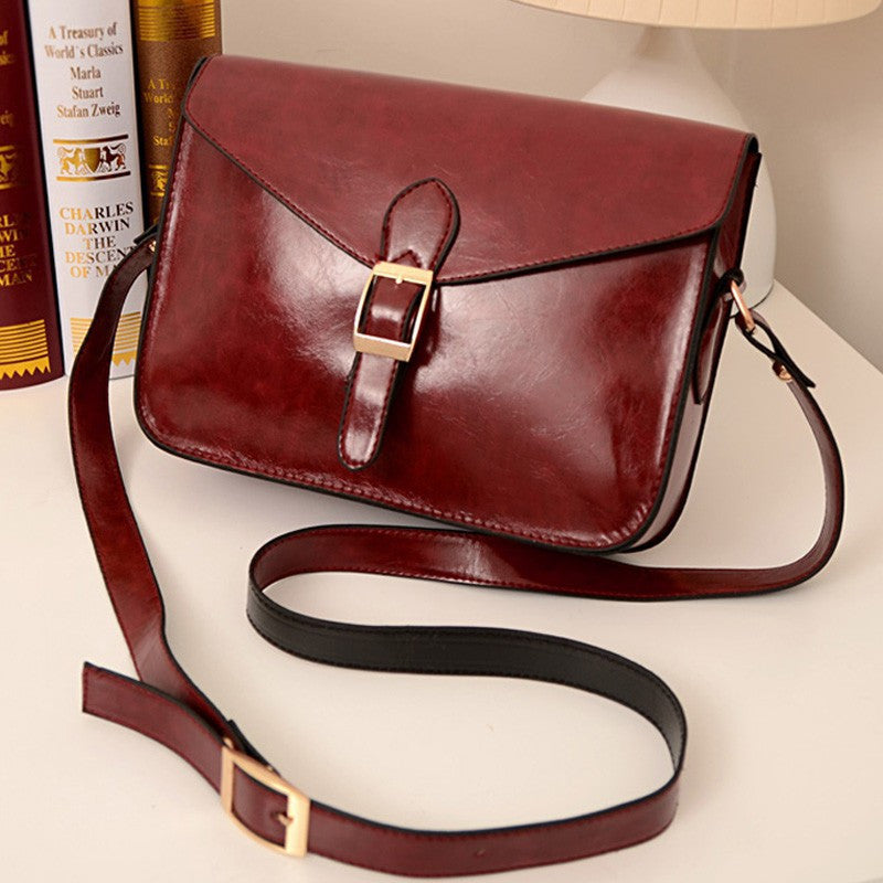 Women's handbag messenger bag preppy style vintage envelope bag shoulder bag high quality briefcase