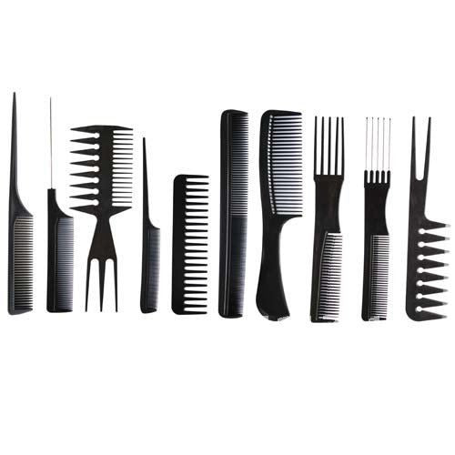 Professional Salon Hair Comb Set(10pcs=1set) good for barber