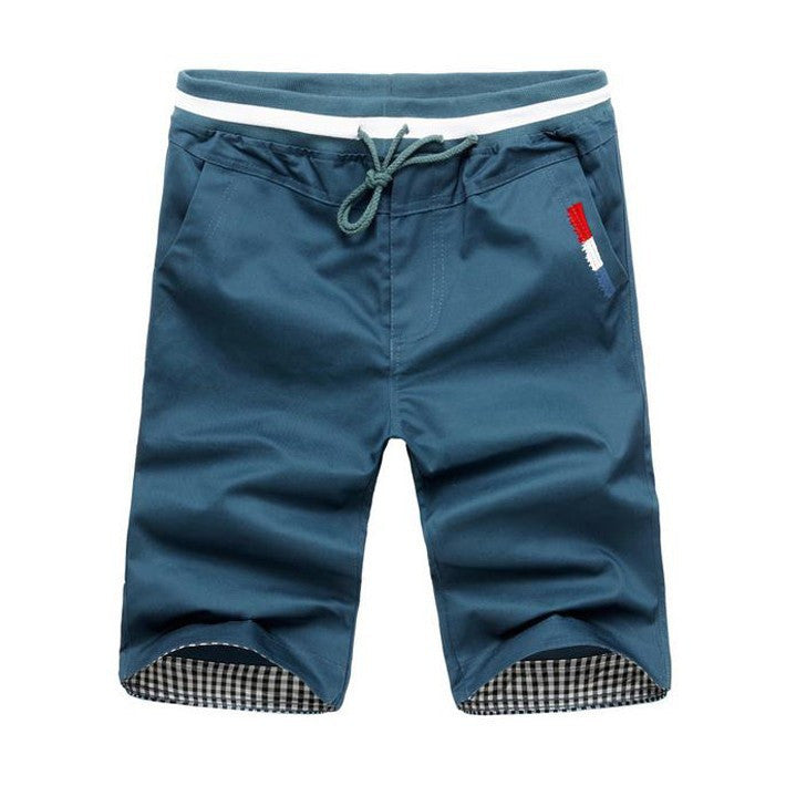 Hot Sale Men's Fashion Korean Style Solid Shorts Male Casual Candy Color Comfortable Beach Shorts