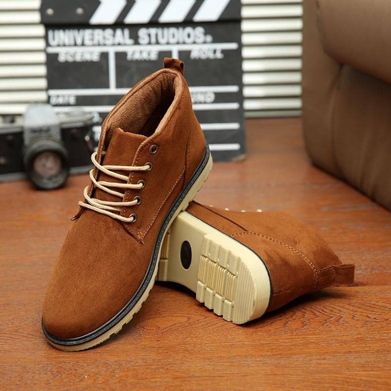 New Arrivals Autumn Spring Men sneakers Quality light casual high top Fashion men shoes boots