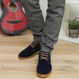 New Arrival Men's England Style Solid Dull Polish Flats Shoe Male Plain Low Fashion Shoes