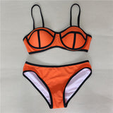 Fashion Women Sexy Bikini Push Up Bra Triangle Bikini Swimsuits Biquini Triangl Swimwear Bathing Suit Beachwear Bikini Set