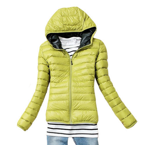 Fashion Parkas Winter Female Down Jacket Women Clothing Winter Coat Color Overcoat Women Jacket