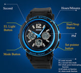 SKMEI Men Quartz Watch Women Sports Watches 3 Time Zone Digital Relogio Masculino Jelly Fashion Casual Wristwatches