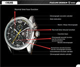 New Pagani Design Watches men luxury brand Waterproof 30m quartz men sport wristwatch Casual fashion watch