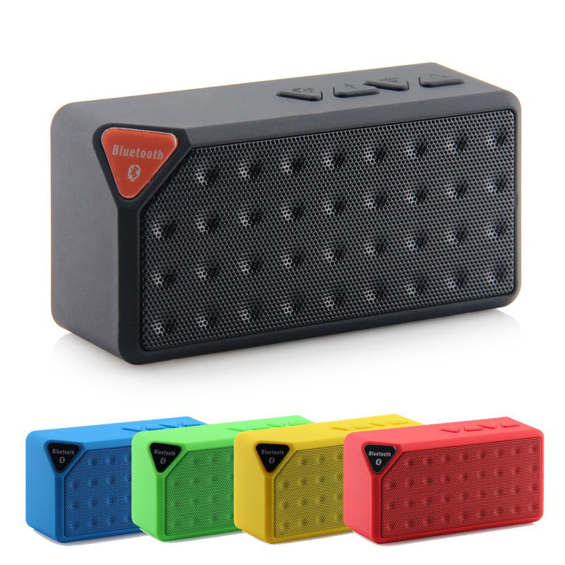 Mini X3 Bluetooth Speaker Portable Wireless Handsfree TF FM Radio Built in Mic MP3 Subwoofer with Detachable Battery