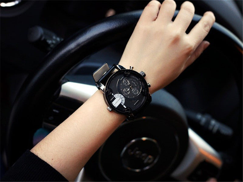 Brand Men Dz Relojes Quartz Watch Reloj Hombre Leather Strap Men'S Watches Dz Watch Men'S Military Clock Sports Watches