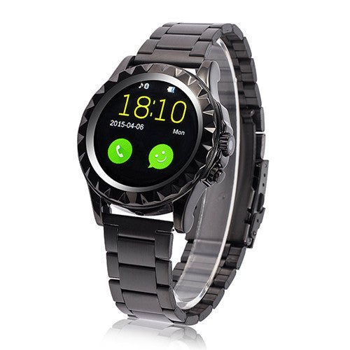 LEMFO LF08 Bluetooth Smart Watch Fashion Wrist Smartwatch Heart Rate Thermometer UV Measurement for IOS Android Phone Mate