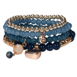 Bracelets For Women Rushed Sterling Jewelry Handmade Pearl Beads Design Colorful Fashion Multilayer Bracelets