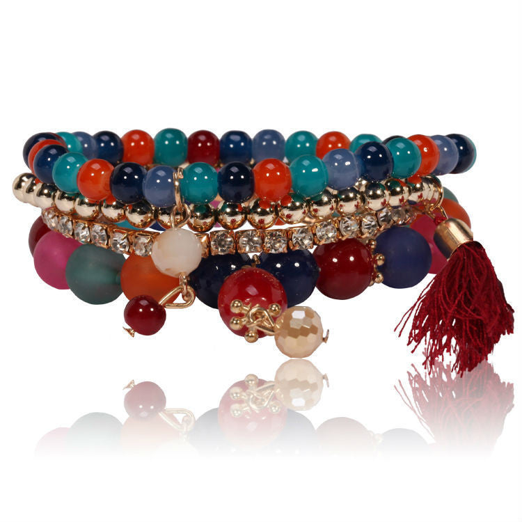 Hot Sale Time-limited Bohemia Women Bracelets & Bangles Bracelet Jewelry Unique Design High Quality Colored Friendship Bracelet