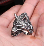 Game Of Throne House Stark of Winterfell Direwolf Wolf Ring Cool Gift For Boyfriend
