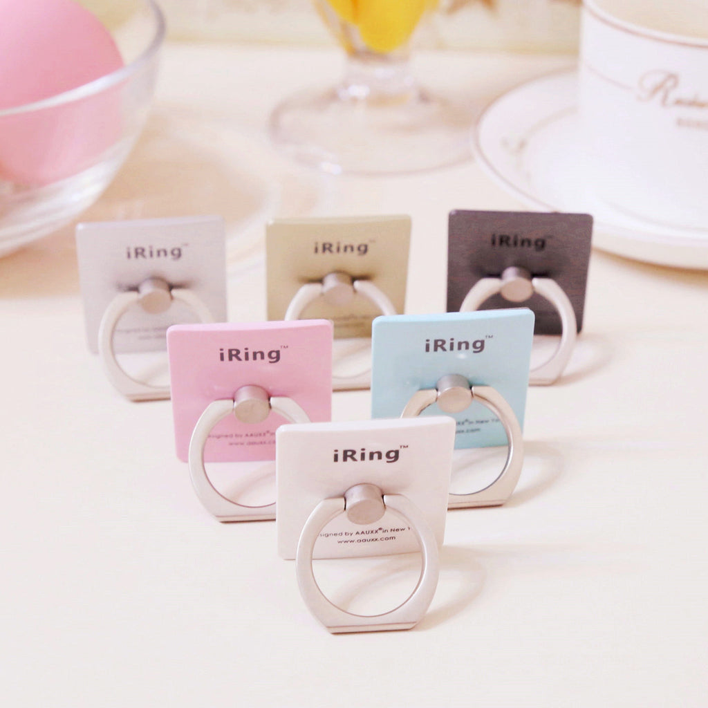 Hot Sale iRing Holder for Mobile Phones and Tablets Luxury Finger Grip Smartphone Stand Ring Holder