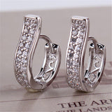 High Quality Small Hoop Earrings For Women Crystals Cubic Zirconia Earing Brinco Birthday Valentine Gift Jewellery Earings