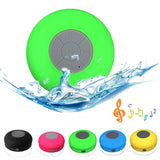 Portable Subwoofer Shower Waterproof Wireless Bluetooth Speaker Car Handsfree Receive Call Music Suction Phone Mic For iPhone