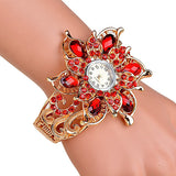 Quality crystal Women's Watches bracelet dress watch fashion ladies wristwatch Bangle watches