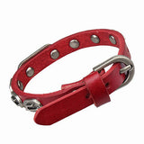 High Quality Men bracelets for women Rock Punk Jewelry pulseras men Genuine Leather Bracelet