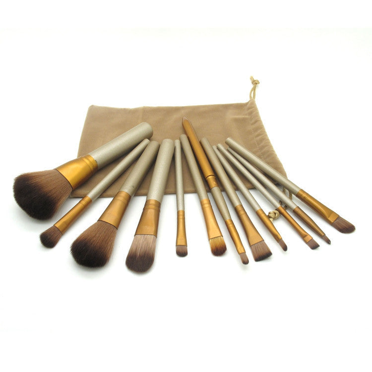 Hot sale 12 Pcs new nake 3 makeup brushes NK3 Brush kit Sets for eyeshadow blusher Cosmetic Brushes Tool
