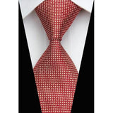 Man Fashion Accessories Striped Jacquard Woven Classic Business Silk Tie Casual Necktie