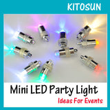 Waterproof LED Mini Party Lights for Lanterns,Balloons, Floral Mini Led Lights For Wedding Centerpiece KIT Eiffel Glass Vases