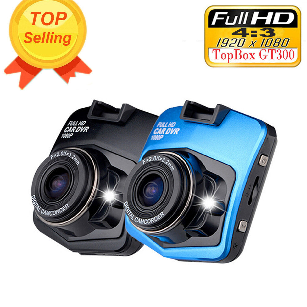 Mini Car DVR Camera Topbox GT300 Dashcam Full HD 1080P Video Registrator Recorder G-sensor Night Vision Dash Cam
