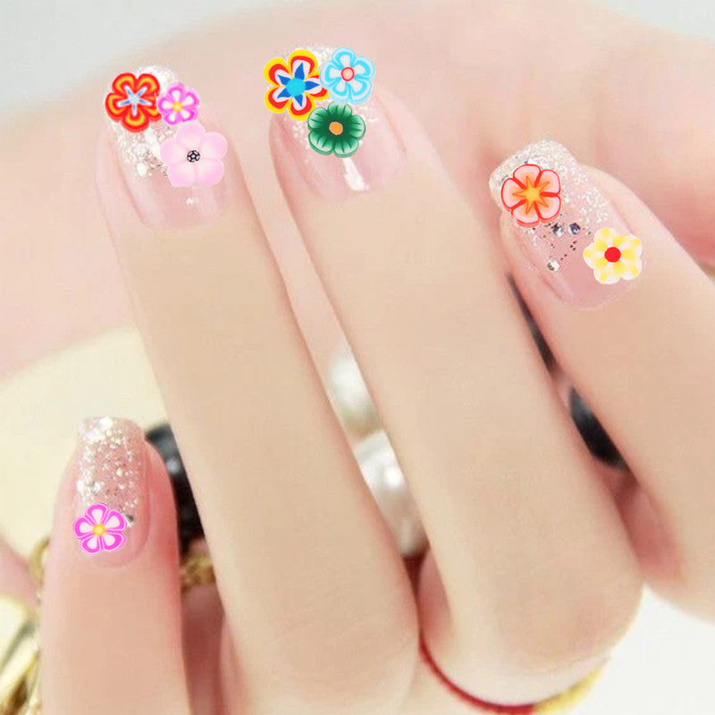 Fruit flowers animals diy 3d nail art decorations buycoolprice 1000 piecesbag fimo clay 3 series fruit flowers animals diy 3d nail art decorations nails art decoration sticker design prinsesfo Image collections