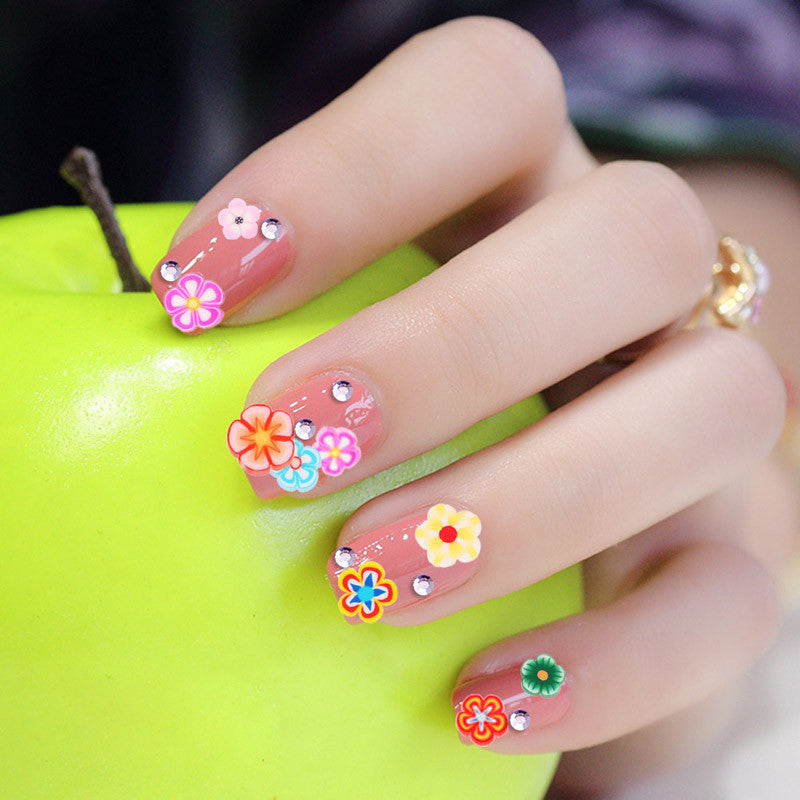 Fruit Flowers Animals DIY 3D Nail Art Decorations | Buycoolprice