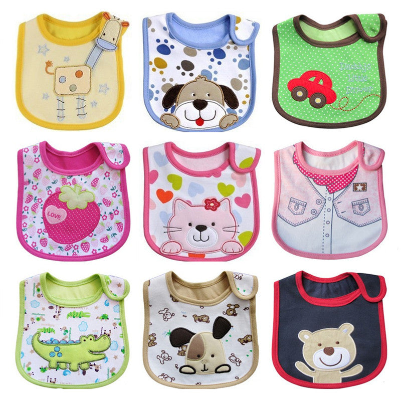 Newborn Baby Bibs Waterproof Bib Bandana Bibs For Kids Baberos Bebes Girls Boys Bib Baby Clothing
