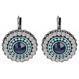 Christmas Gifts Luxury Full Dirll Earrings Silver Plated Austrian Crystals Drop Earring 100% Handmade Fashion Jewelry