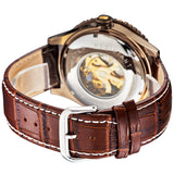 High Quality Men Genuine Leather Strap Watch Luxury Brand Fashion & Casual Automatic Mechanical Luxury Antique Watches