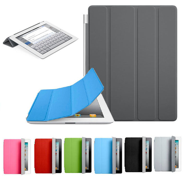 Hot Unique Sleep Wake Function Smart Slim Case For Ipad 2 3 4 Cases Magnetic Leather Case For Ipad