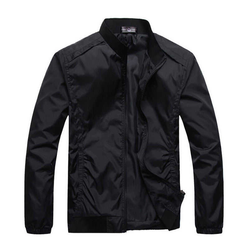 Jacket Men Summer Casual New Outdoors Sportwear Men Waterproof Jacket Coats Slim Windbreaker