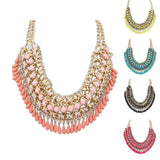 New Fashion Bohemia Knitting Necklace Choker Collar Necklace Fine Jewerly For Women Necklace