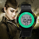 New SM Brand Men Sports Watches Military Watch Women Casual LED Digital Multifunctional Wristwatches 30M Waterproof Student
