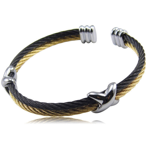 High Quality Fashion Jewelry Infinite Brand Bracelets Bangles Titanium Steel Brand Gold Bracelets For Women