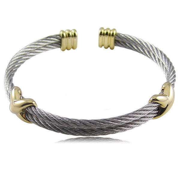 New High Quality Fashion Jewelry Infinite Brand Bracelets Bangles Titanium Steel Brand Gold Bracelets For Women