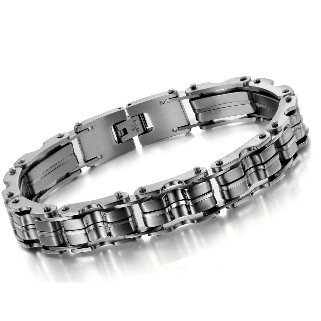 Stainless Steel Bracelet Charms: 316L Stainless Steel Bracelet JEWELRY STAINLESS STEEL