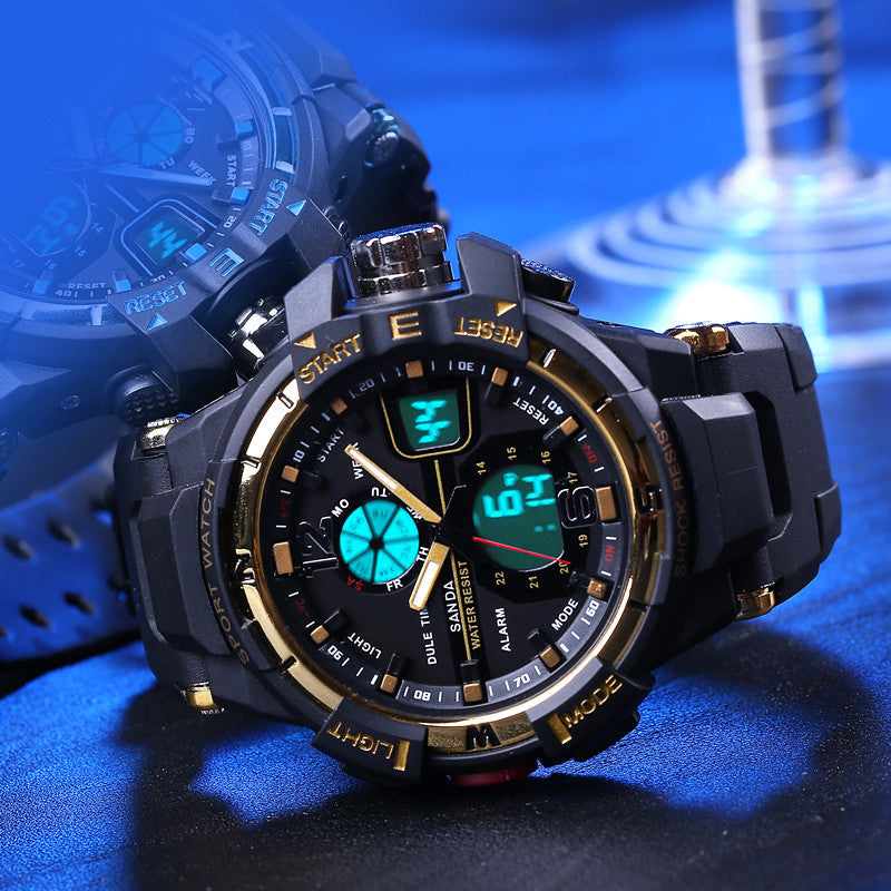 Fashion 30m Waterproof Dive Led Sports ElectronicWatches Men Luxury Brand Watch S Shock Silicone Digital Wristwatch