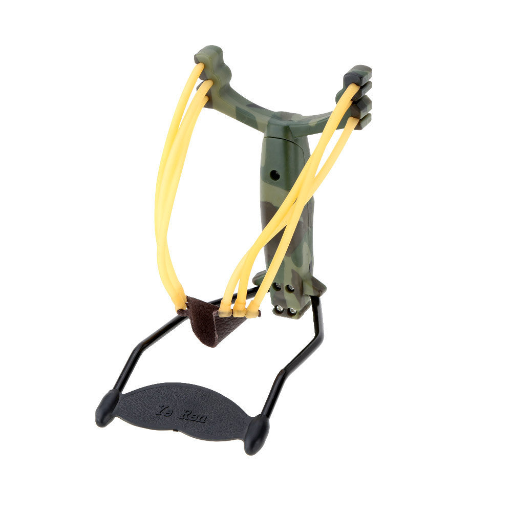 Adult Slingshot Outdoor Powerful Sling Shot Folding Wrist Camouflage Hunting Slingshot Catapult for Marble Games Hunting