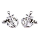 Anchor Cufflinks for Mens Jewelry shirt cufflinks Brand cuff buttons cuff link High Quality Wedding abotoaduras