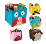Animal Design Kids Toy Storage Boxes Cartoon Foldable Hamper Children Boys Girls Toys Clothing Organization