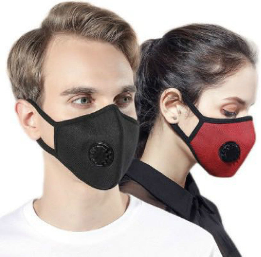 Anti Pollution fashion KN95/PM2.5 Mask Dust Respirator Washable Reusable Masks Cotton Unisex Mouth Muffle Allergy/Asthma/Travel